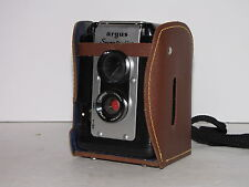 VINTAGE ARGUS SEVENTY FIVE FILM CAMERA WITH LEATHER CASE