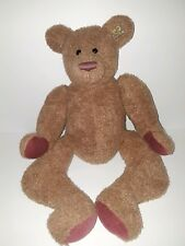 Vintage Annette Funicello Curly Hair Brown Collectible Bear Nickletta Retired