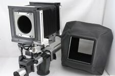 Exc Sinar 4X5 Camera C F Front P Back W/Wide Bellows *23101