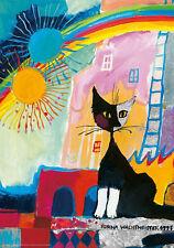 Puzzle Serafino, 500 piezas, Rosina wachtmeister, gato, plata diapositivas presión, heye