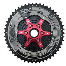 11 speed MTB Cassette 11 50T Wide Ratio Shimano SRAM Fit MX80 Black