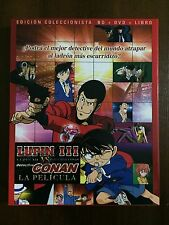 LUPIN III VS DETECTIVE CONAN LA PELICULA BLURAY + DVD + LIBRO 23 PAGS - 107 MIN