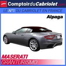 Capote Maserati Granturismo cabriolet (2010- 2018) - Toile Alpaga Twillfast®