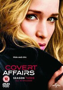 Covert Affairs: Season 3 [DVD][Region 2]
