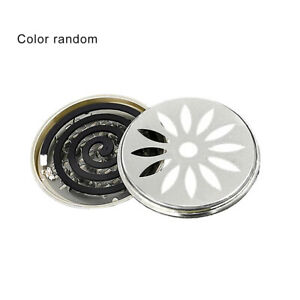 Portable Mosquito Coils Holder Large Hotel Metal Repellent Rack With Cover IC