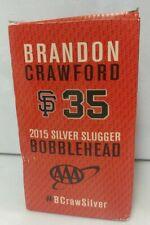 San Francisco Giants Brandon Crawford Bobblehead SGA 2016 Silver Slugger w/ Box