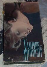 Vampire at Midnight RARE Key Video 1988 VHS bloody vampire horror crazed killer