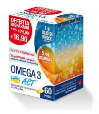Omega 3 Act utile per la funzione cardiaca 60 perle da 1g