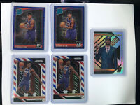 2018-19  Panini Prizm DeAndre Ayton Lot Of 9 red, White And Blue, Silver Lottery