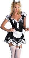 Damen 3-tlg. Sexy Französisches Dienstmädchen Kostüm Größe 10 Inklusive