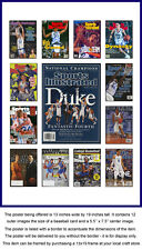 Duke Blue Devils Sports Illustrated Cover Collection Poster