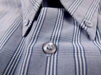 KL282 BEN SHERMAN vintage check shirt size L, great condition!