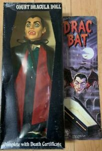 Traveler Trading Count Dracula Doll Action Figure 1985's hard to find