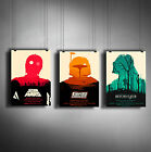 STAR WARS A3 or A4 Size * Alternative Movie Posters * Minimal Vintage Wall Art