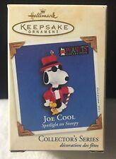 2003 Hallmark Keepsake Christmas Ornament Joe Cool Spotlight On Snoopy # 6