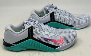 Nike Metcon 6 Womens Size 12 Men's Sz 10.5 Crossfit  AT3160 020 NOBOX LID
