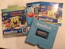 VTECH InnoTAB 1 2 3 juego Spongebob Squarepants un día ocupado en la parte inferior de bikini en Caja