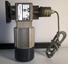 Motoriduttore Riduttore 1/80 220/380V Trifase + Staffa in acciaio + Encoder