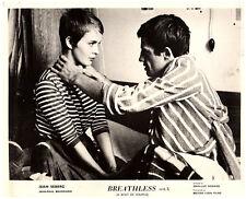 BREATHLESS ORIGINAL LOBBY CARD JEAN-PAUL BELMONDO JEAN SEBERG À bout de souffle
