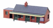 Country Station Building, brick type by Peco #NB-12  N Scale
