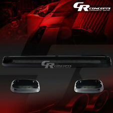 3-PIECE SMOKED BLUE LED ROOF TOP RUNNING LIGHTS SET FOR 07-13 SILVERADO/SIERRA