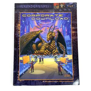 Corporate Download A Shadowrun Sourcebook 7125 FASA Paperback 1999