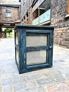 Vintage French Cheese Safe - Side Table - Bedside Table