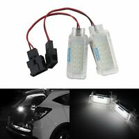 2x LED Footwell Step Glove Box Trunk Light Fit VW Transporter Golf GTI MK6 Jetta