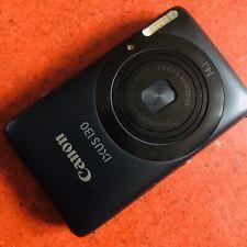Canon IXUS 130 / PowerShot Digital ELPH SD1400 IS 14.1MP Digital Camera - Black