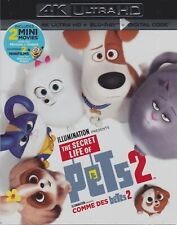 THE SECRET LIFE OF PETS 2 4K ULTRA HD & BLURAY & DIGITAL SET with Patton Oswalt