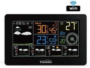 Weather Station WIFI ( Official UK Version )  Colour Display Indoor Outdoor