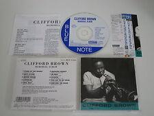 CLIFFORD BROWN/MEMORIAL ALBUM(BLUE NOTE TOCJ-1526) JAPAN CD+OBI