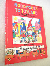 Enid Blyton NODDY GOES TO TOYLAND 1992 softcover NODDY #1 pictures by BEEK