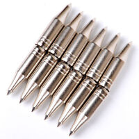 6g Steel Target Points Archery Tips 8mm Field Tips Target Point Arrowhead