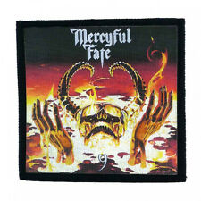 MERCYFUL FATE 9 Toppa (patch10x10) King Diamond,Iron Maiden,Kiss,Saxon,Cauldron
