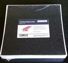 29,12€//m² Terrassenpad 100x100x6 mm 50 St Gummigranulat Pad