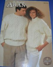 Sirdar The Best Of Aran 12 Designs Knitting Pattern Book 179