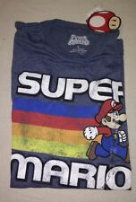 Nintendo Men's Super Mario Vintage Classic T-Shirt NEW