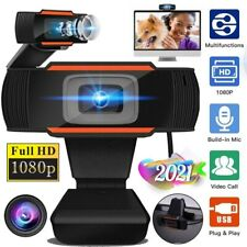 1080P HD USB Webcam Digital Video camera w/Microphone Computer PC Desktop Laptop