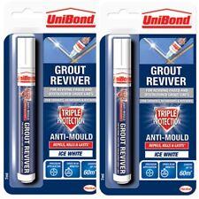 2 X Mörtel Erneuerer Stift Unibond Antibakteriell Easy Aufheller Form