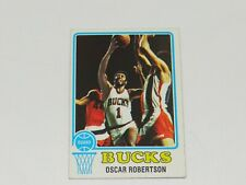 1973 TOPPS BASKETBALL #70 OSCAR ROBERTSON BUCKS