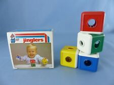 AMBI TOYS JINGLERS hochet VINTAGE , neuf + boite années 70 collector HOLLAND