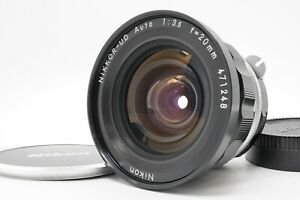 [MINT] Nikon Nikkor-UD Auto 20mm f/3.5 Wide Angle Non Ai MF Lens From Japan
