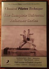 Classical Pilates Technique - The Complete Universal Reformer Series (DVD, 2004)