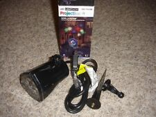 Led projection Light show whirl-a-motion outdoor Christmas stars & Snowflakes