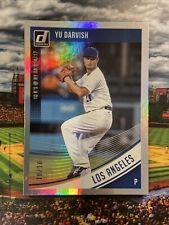 2018 Donruss #127 YU DARVISH #10/10 Serial Numbered San Diego Padres / Cubs
