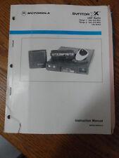 Motorola Syntor X Uhf Mobile Radio 406 512 100w Manual 68p80100w45 B 378