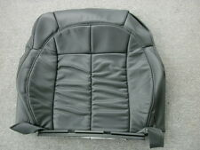 Jeep Grand Cherokee WJ dark slate leather front seat back cover