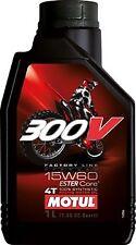 Huile MOTUL 300V 15W60 moto cross enduro quad Factory Line Off Road 1 litre