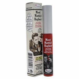theBalm Meet Matt(e) Hughes Liquid Lipstick 6.5 ml Shade Honest Brand New